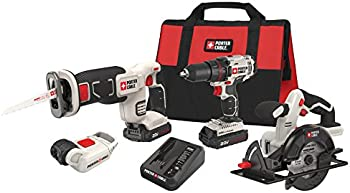 Porter-Cable 20V Lithium-Ion 4-Tool Combo Kit