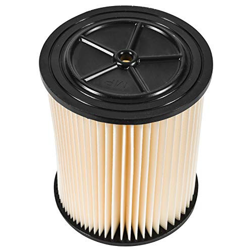 Wet and Dry Vacuum Filter Replacement Cartridge and Craftsman Models of 5 Gallons Up and by
