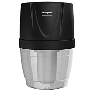 Honeywell HWB101B Filtration System for Water Dispensers, Reduces Chlorine and Particulates to help improve water taste, Avoid water bottles heavy lifting, spills and storage, Black