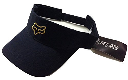 abb74414f65 Image Unavailable. Image not available for. Color  Fox Racing New School Fox  Head Adjustable Visor Navy Yellow Cap Osfa