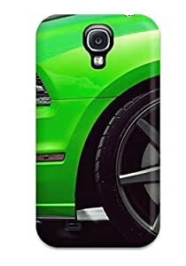 Hot Fashion IDUhgsy465JZkzu Design Case Cover For Galaxy S4 Protective Case (green Shelby Mustang Vehicles Automotive Boss Cars Ford) by icecream design