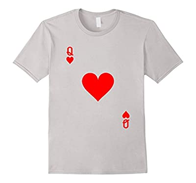Queen of Hearts Playing Card Halloween Costume T-Shirt
