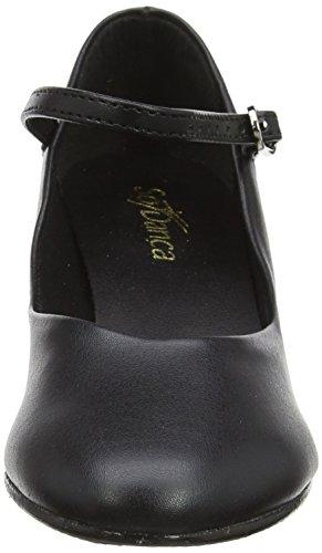 in nero Weite pelle Danca 0 scarpe tacco nbsp;cm 4 scarpe carattere So suola M wI1qTxH