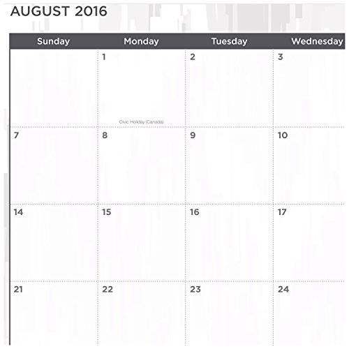 five star academic year weekly monthly planner august 2016 july