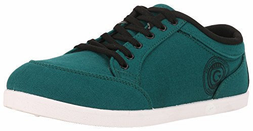 Globalite Men's Casual Shoes Stumble Teal Black GSC0432