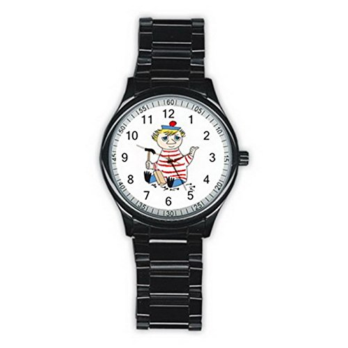 Wmm006 Too-ticky Cartoon Comic the Moomins New Fashion Men's Wrist Watches Stainless Steel