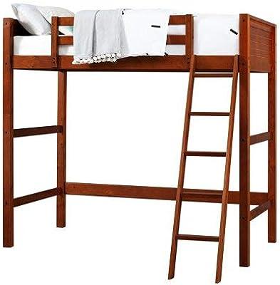 Amazon Com We Furniture Premium Twin Metal Loft Bed Mint