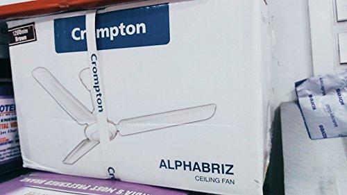 Crompton HLB1200IVY-WOR Hill Briz 1200mm Ceiling Fan (Ivory)