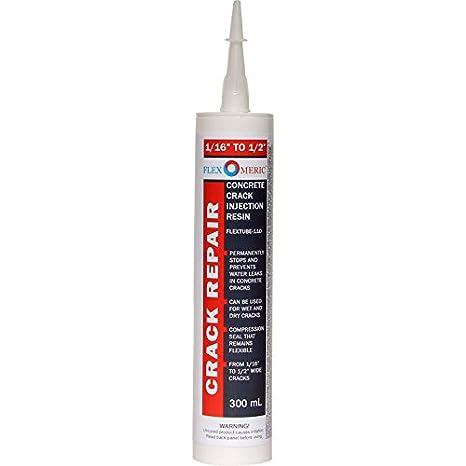 DIY flexomeric Foundation Kit de reparación de crack - Espuma de poliuretano - 1/16