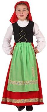Atosa - Disfraz de campesina para niña, talla 7-9 años ...