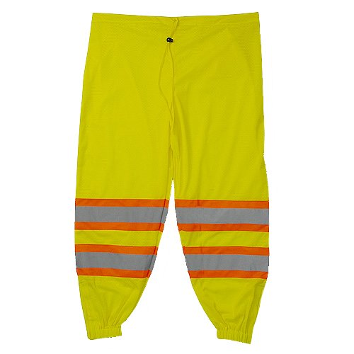 Majestic Glove 75-2501//X4 Mesh Pants Class E High-Vis 4X-Large//5X-Large Yellow
