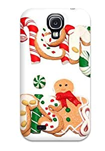 High Quality Shock Absorbing Case For Galaxy S4-merry Christmas Greetings