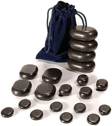 Hot Stone Set Van Taoline 20 Basalt Massagestenen Beginnersset Amazon Nl