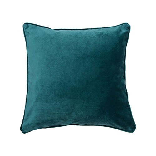 86d13a0ceca5 Image Unavailable. Image not available for. Color  Teal Velvet Pillow Cover  ...