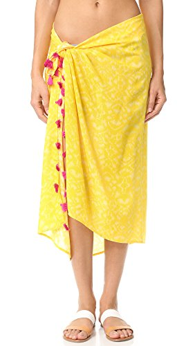 OndadeMar Women's Limoncello Pareo, Limoncello, One Size