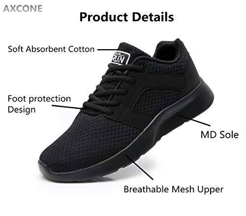 Axcone Homme Femme Running Baskets Chaussures Outdoor Running Gym Fitness Sport Sneakers Style Multicolore Respirante… 5