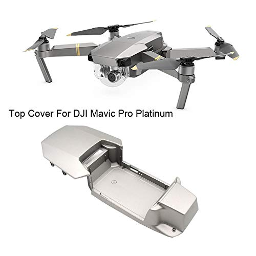 (Ktyssp for DJI Mavic Pro Platinum Drone Upper Top Shell Body Case Repair Parts Accessories Professional)