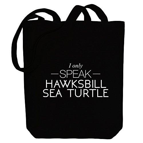 Tote speak Sea Hawksbill Bag only Turtle Canvas Animals I Idakoos 8w6aqTE8