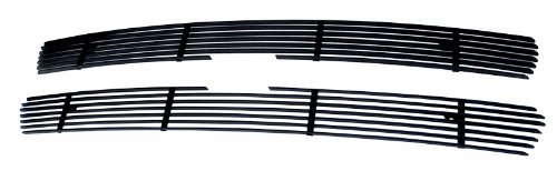 MaxMate Fits 99-02 Chevy Silverado 1500/00-06 Tahoe/Suburban Upper 2PC Bolton Black Billet Grille Grill Insert