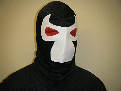 WRESTLING MASKS UK Men's Bane - Slip On Mexican Mask One Size Multicoloured -