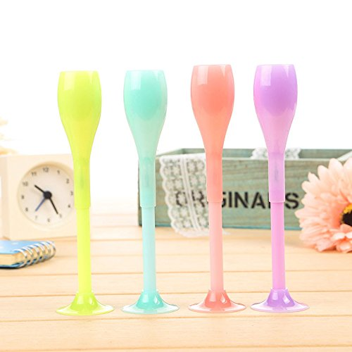 4 interesting piece luminous glass pens, gel pens, gel pens, free shipping creative cartoon. (Halloween College Stories)