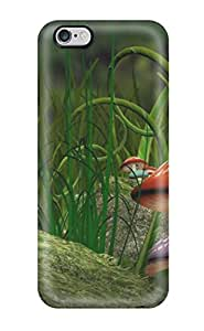 Top Quality Rugged Fantasy Mushrooms Case Cover For Iphone 6 Plus