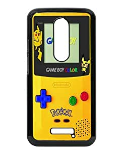 Unique Motorola Moto X 3rd Generation Case ,Hot Sale And Popular Designed Case With Pokemon 2 Black Moto X 3rd Gen Skin Cover Great Quality Phone Case