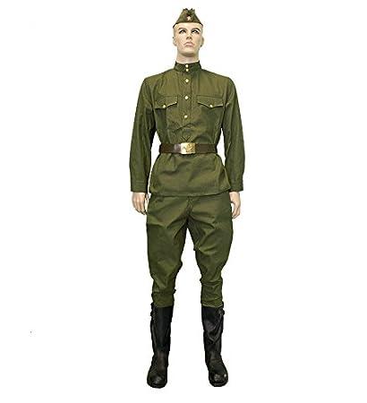 Amazon.com : Uniform Jacket + Pants Olive gimnasterka Pant ...