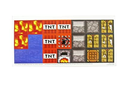 Fisher Price Minecraft Stop-Motion Movie Creator Replacement Stickers Mattel