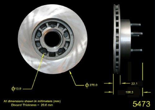 Bendix PRT1860 Brake Rotor
