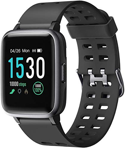 Letsfit Smart Watch, Activity Fitness Tracker with 1.3