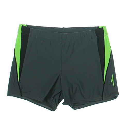 Costume Amazon Speedo Swimming (Speedo Men's Fitness Splice Square Leg, Charcoal,)