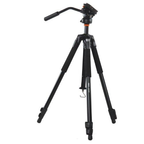 VANGUARD ABEO 243AV Tripod for Videography (Black)