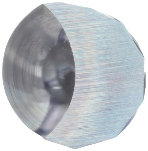 variant image of LMT Onsrud 62-733 Solid Carbide Downcut Spiral O Flute Cutting Tool, Inch, Uncoated (Bright) Finish, 21 Degree Helix, 1 Flute, 3.0000