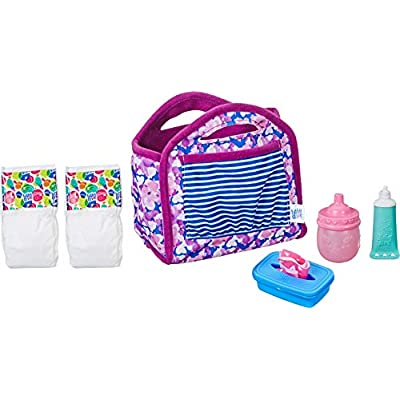 Baby Alive Diaper Bag Refill Doll: Toys & Games