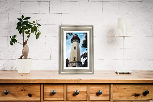 New York Map Company  Lighthouse Hill, Richmondtown, Staten Island, N.Y, Postcard Vintage Antique Fine Art Reproduction Photo  Size: 8x12 Ready to Frame ()