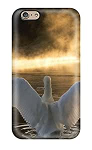 Anti-scratch And Shatterproof Swan Phone Case For Iphone 6/ High Quality Tpu Case