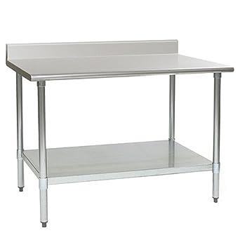 Eagle T3060SE-BS mesa de trabajo de acero inoxidable con base de ...