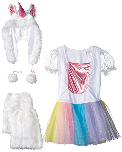 Fun World Unicorn Costume, Medium 8-10, Multicolor ()