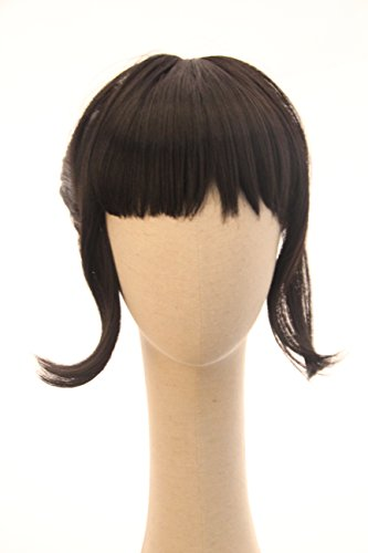 Short Black Ponytail Rose Tico The Last Jedi Inspired Wig for Anime Cosplay Costume Wigs