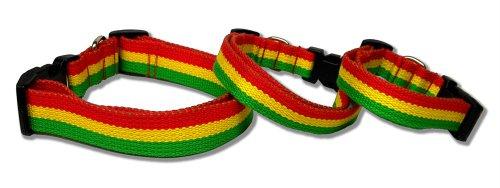 Bamboo Nylon Collar (Jamaica Nylon Adjustable Dog Collar)