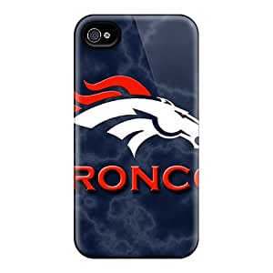 Sanp On Case Cover Protector For Iphone 4/4s (denver Broncos)