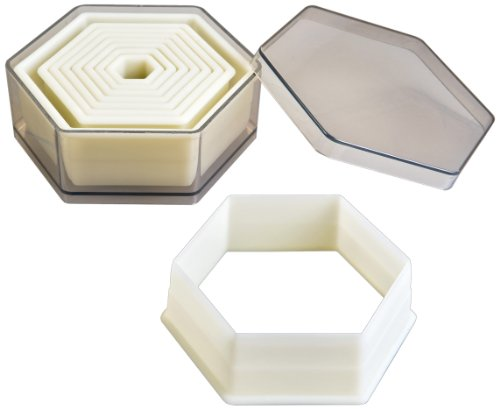 Ibili 784204 Cookie Cutters Hexagon Smooth