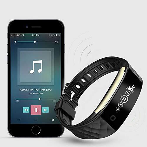 H&YL Montre Connectée, Bracelet Connecté Fitness Tracker Dactivité Montre Cardio Sport avec Cardiofréquencemètre Sommeil Podomètre Calories Mode ...