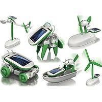 DISIANI 6 合 1 教育太阳能套件构建您自己的科学玩具 DIY