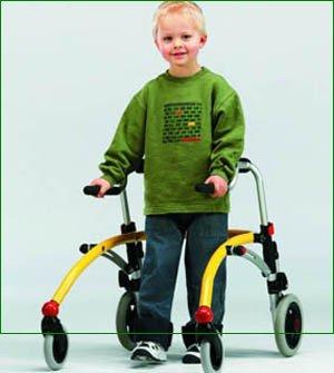 Andadores y sillas de ruedas - pequeño pediátrica diseño de ...