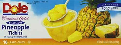 16k Bit (Dole Tidbits in 100 Percent Pineapple Juice, 16 Count by)