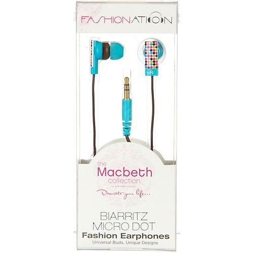Macbeth Collection Earphones Biarittz MB EB1BD product image