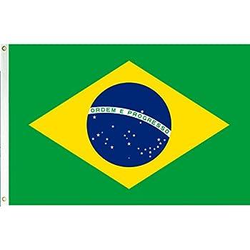 amazon com brazil 3 x5 polyester flag outdoor flags garden