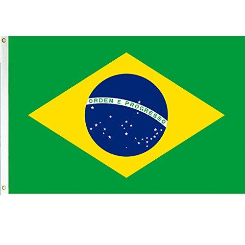 Brazil 3'x5' Polyester Flag